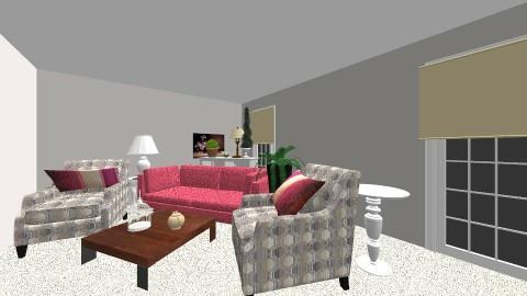 LaShina - Living room - by talialodaya
