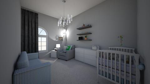 boys home nursery  - Modern - Kids room - by jade1111