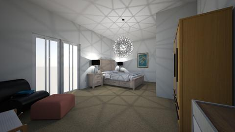 Master Bedroom _ House 1 - Modern - Bedroom - by claudia_cox09