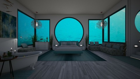 Under Water Room - by Bianca Biffa Hart