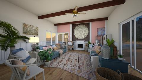 Coral - Living room - by NiceGoodNoodle
