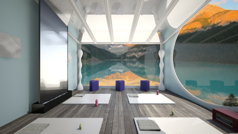 yoga room - Modern - by LAS95