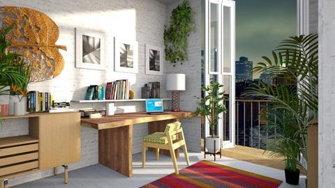 Urban Jungle Office - Office - by lauren_murphy