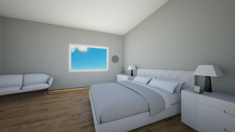 Bedroom Infinity - Modern - Bedroom - by RoomstylerJD