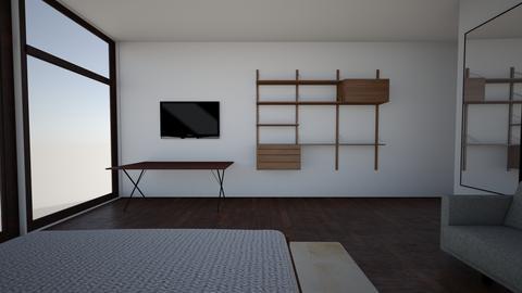 Miguel Antor final tv - Bedroom - by karlitajmlm
