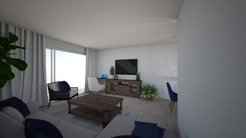 Sarah Apt 3 no shelving - Living room - by emmanuelmanny
