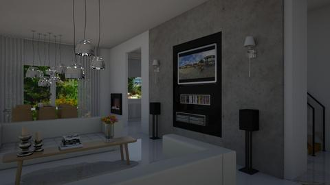 Less is more - Living room - by Danielle_ML
