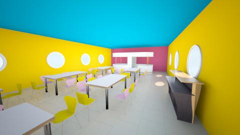 comedor - Minimal - Dining room - by ASU ARQUITECTURA
