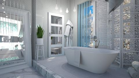 M_Snowflake - Bathroom - by milyca8