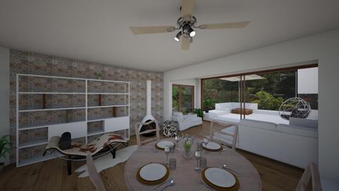 Cala Conta home - Living room - by Lisett