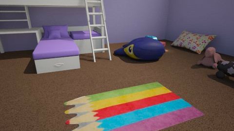 Kids Room  Angle 1 - by MissStyle