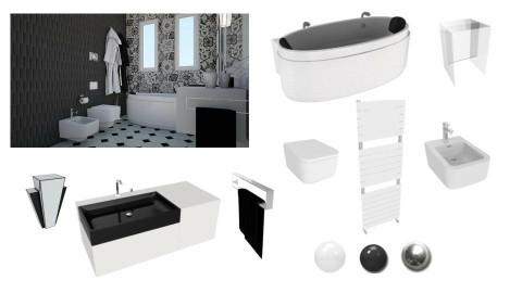 Modern bath - by rossella63