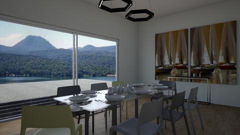 Nadia Ortiz Valle 03 - Dining room - by Jlo Design