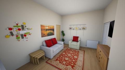 Living Room Version 2 - Living room - by gbrowning