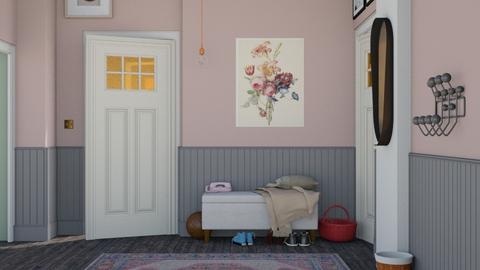 Hallway - Modern - by HenkRetro1960