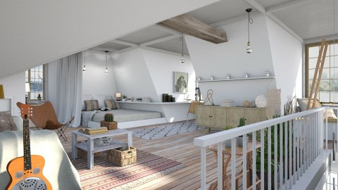 Attic Space - by evahassing
