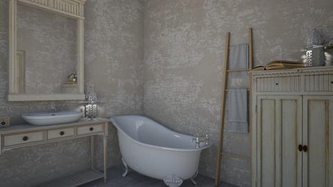 shabby chic - Bathroom - by daydreamer84