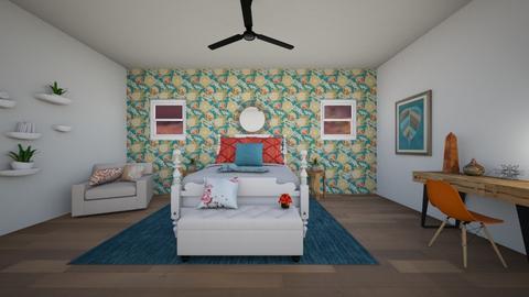 flowered - Bedroom - by dena15