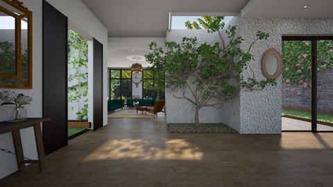 tree inside - Country - Living room - by tolo13lolo