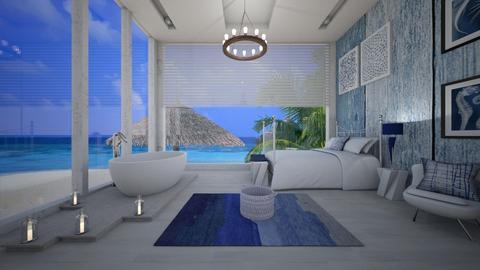 Nautical Bedroom - Bedroom - by PRINZESSINBLUME