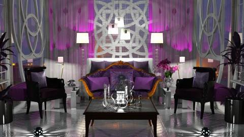 Jaya Strange Purple - Glamour - Bedroom - by anchajaya