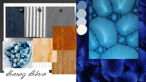Being Blue - by P_O_F Interiors