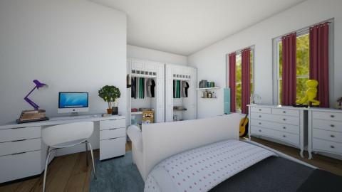 Master bedroom - by Mya9