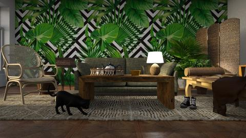 Jungle Book - Living room - by ZuzanaDesign