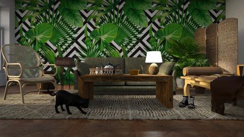 Jungle Book - Living room - by ZuzanaDesign