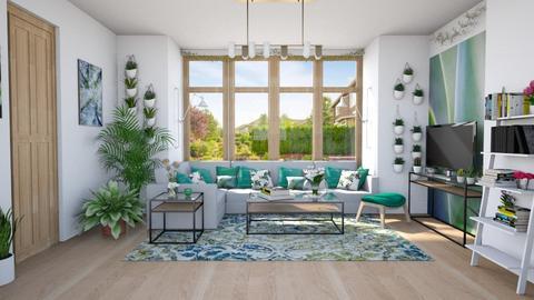 Template Baywindow Room - Living room - by Ritix