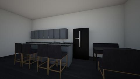 sleek and chic kitchen - Modern - Kitchen - by hannahbannana072408