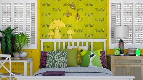 Tianas Room - Bedroom - by Rebekah Pincock