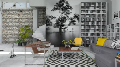 Paint_Paper And Fit It - Modern - Living room - by janip