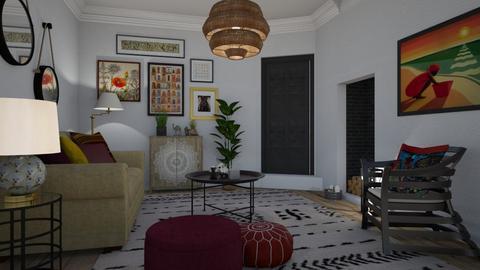 Boheme - Living room - by Tuija