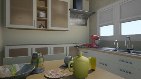 simple - Minimal - Kitchen - by lih_lih