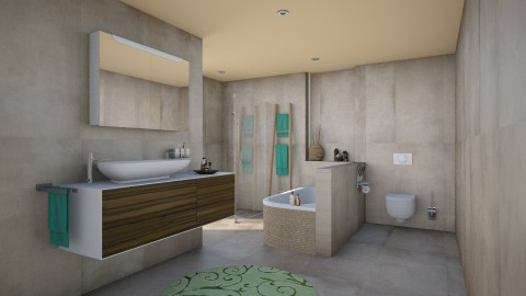 Harmonisch Test2 - Bathroom - by TV Renders