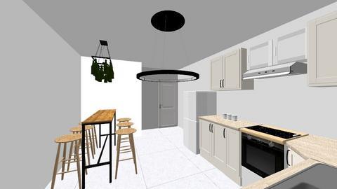 wess kitchen - Kitchen - by sethcartagena