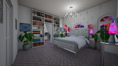 Bohemian Bedroom - Feminine - Bedroom - by Cool Coder Girl