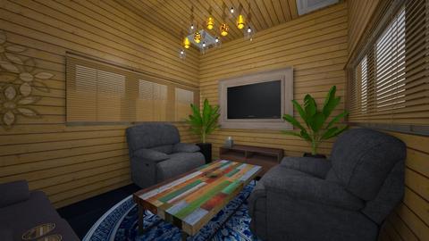 swetha living room - Rustic - Living room - by Swetha99