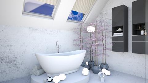attic bathroom - by jkngel