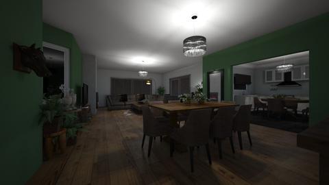 nancy bal  - Living room - by joke1983