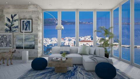 Dont Leave Summer - Modern - Living room - by bgref