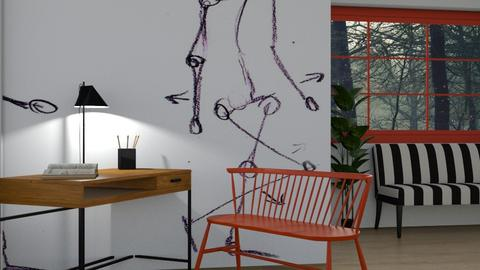 Artist Abode - Modern - Office - by Jessica Fox