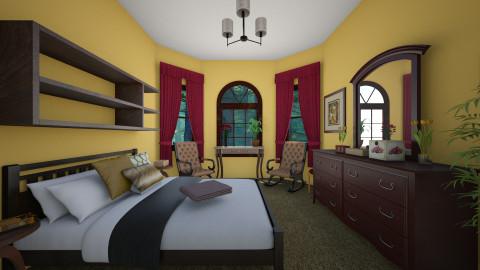 DH Bedroom 4 - Bedroom - by gocello