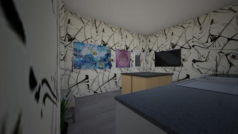 kitchen 2 - Modern - Kitchen - by MiaPellegrino225