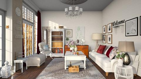 Shabby - Living room - by zarky