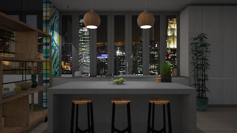Urban Jungle Kitchen - Kitchen - by Asha_Shade