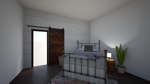 roompin - Rustic - Bedroom - by PeculiarLeah