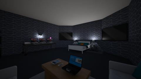 dylans dream bedroom - Modern - Bedroom - by sliderbily