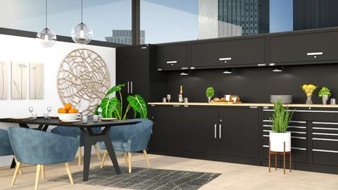 Modern Kitchen - Kitchen - by millerfam